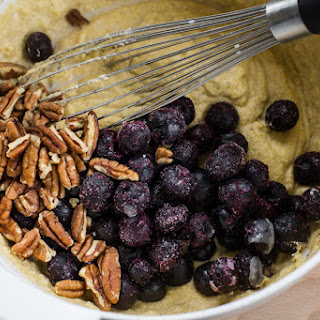 Breakfast Friday | Blueberry Pecan Cornbread Bread Pudding