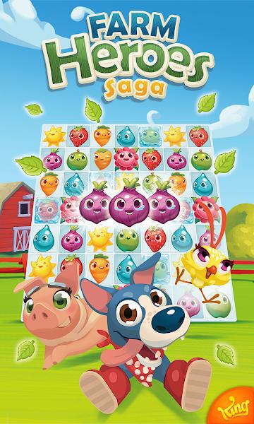 Farm Heroes Saga v5.1.8 [Mod]