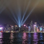 Hong Kong by night in Hong Kong, , Hong Kong SAR