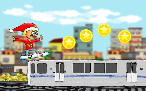 Subway Train Hoverboard