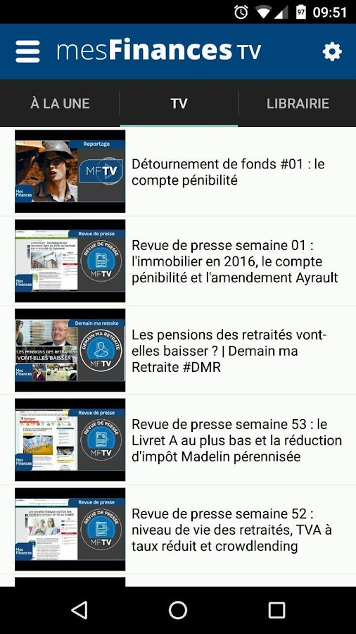 Mes Finances- screenshot