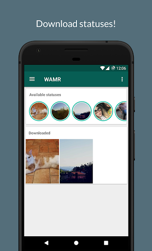 WAMR - Recover deleted messages & status download 0.10.6 Screenshots 4