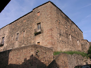 Photo: Castell de Santa Pau