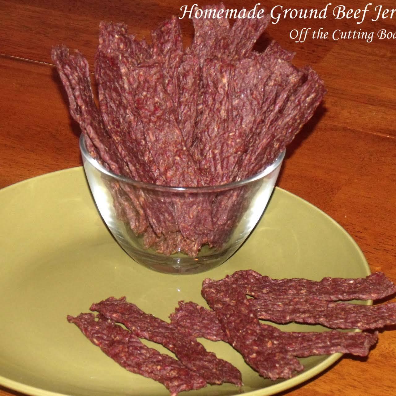Homemade Ground Beef Jerky