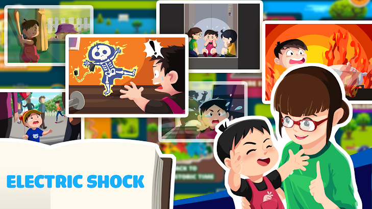 Safety for Kid Electric Shock screenshot