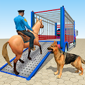 US Police Dog & Horse Transport Truck icon