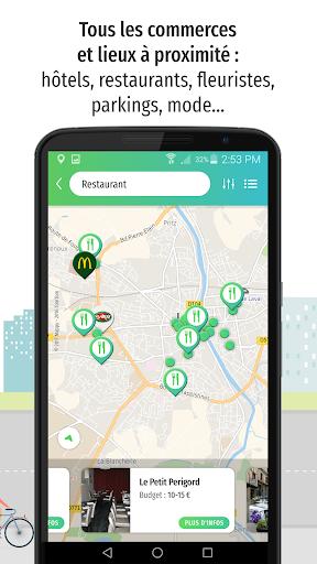 Mappy u2013 Plan, Comparateur du2019itinu00e9raires, GPS  screenshots 2