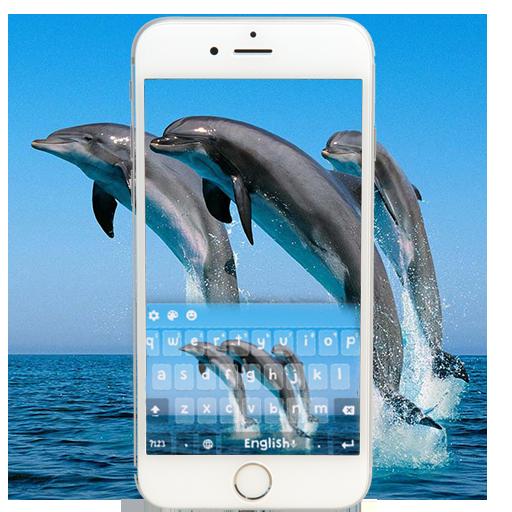 Dolphin Keyboard Theme