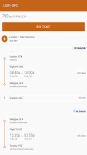 Find cheap flights- screenshot thumbnail