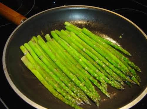 "Pan-Seared Asparagus ""Simple and simply delicious!"" - SouthernBelle   ""I made this tonight..."
