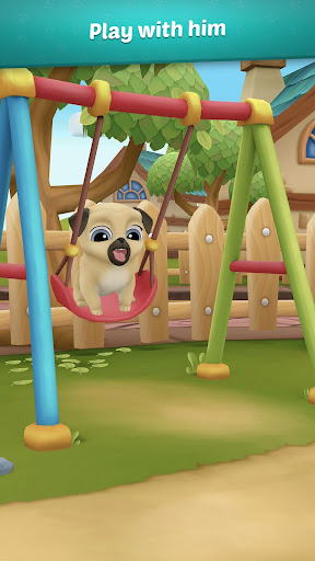 My Virtual Pet Dog ud83dudc3e Louie the Pug apkpoly screenshots 2