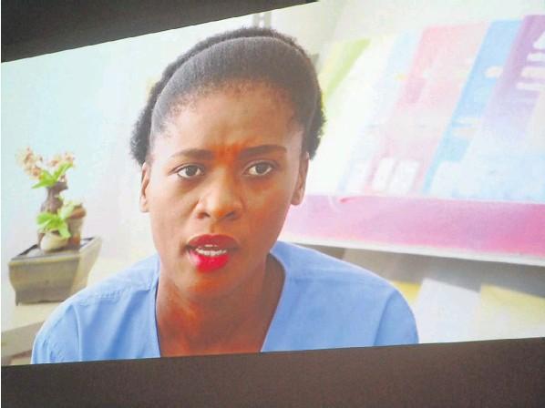 Grace 'Druglocks' Nobanda doen appèl op die skerm - DispatchLIVE