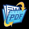 Word DOC to PDF icon