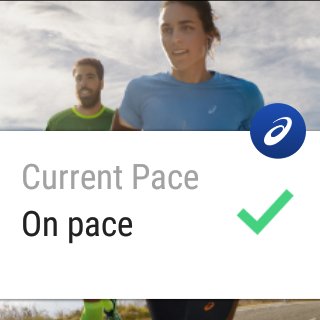 MY ASICS Lauftraining – Screenshot