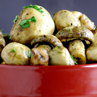 Steakhouse Mushrooms Recipe