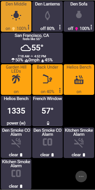 ActionTiles SmartThings custom web dashboard maker