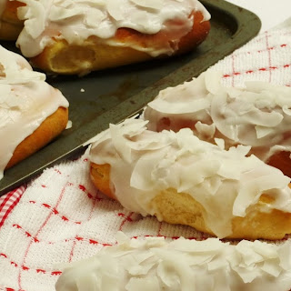 Iced Coconut Finger Buns - Summer on a Plate (RECIPE)