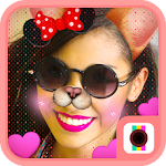 Doggy Face Camera-Funny Cute Doge Motion Stickers Icon
