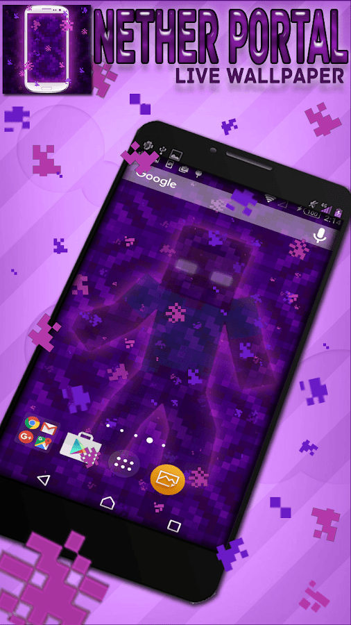 Nether Portal Live Wallpaper- screenshot
