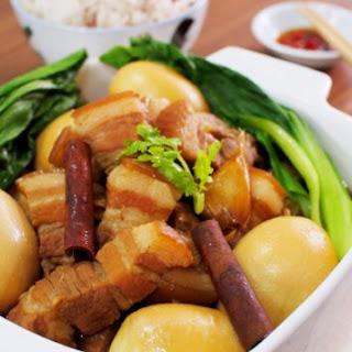 Thai Style Stewed Pork Belly