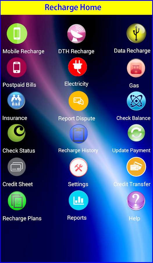 SMSLINK - Recharge App- screenshot