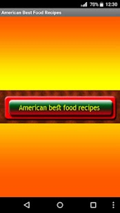 American Best Food Recipes - náhled