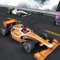 Car stunt racing Formula cars icon