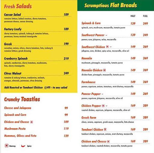 Smoothie Valley menu 3