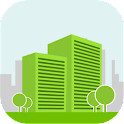 Green Building Construction icon