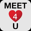 Meet4U - Chat, Love, Singles! icon
