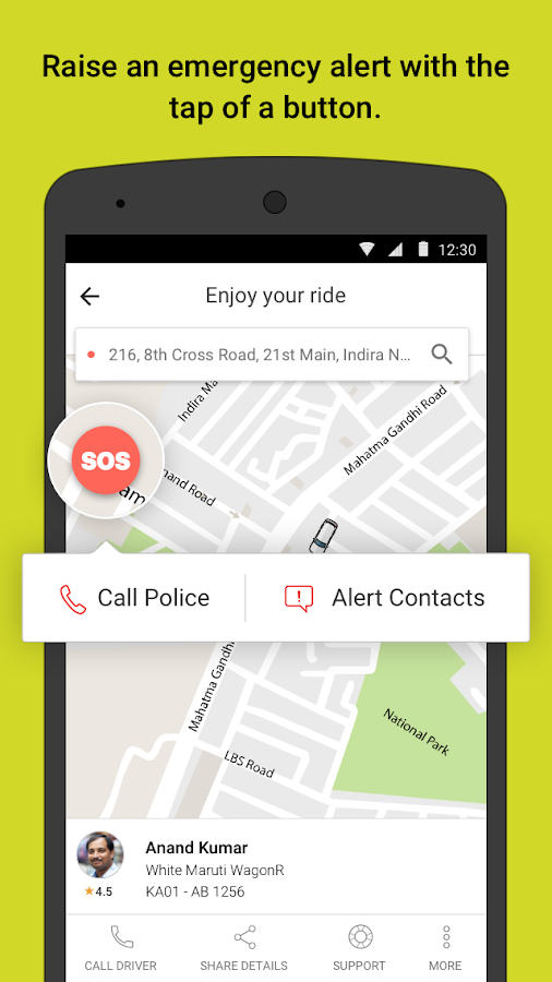 Ola cabs - Book taxi in India- screenshot