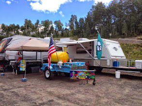 Photo: Our camp in TELLURIDE CO!!!!!