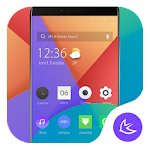 Xiaomi Mi A1- APUS Launcher theme
