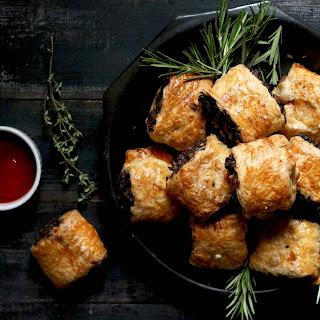 Vegetarian Sausage Rolls.