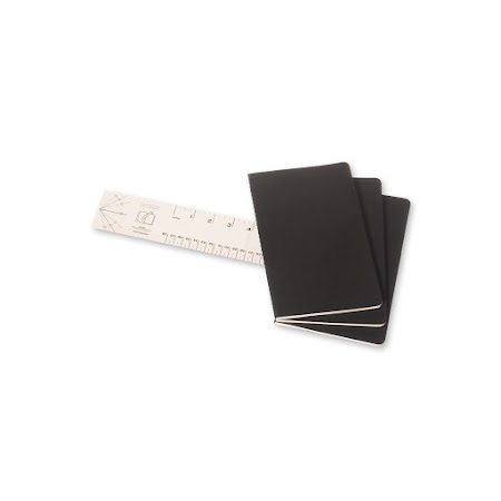 Cahier Journal Large Black