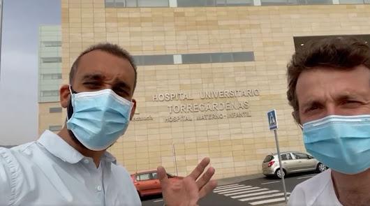 """'Spiriman' visita Almería: """"Qué discriminada está"""""""