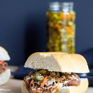 Slow Cooker Beef Sandwiches.