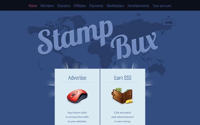 StampBux : AdAlert