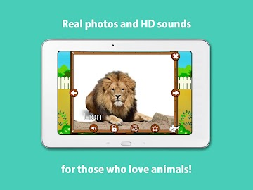Kids Zoo,Animal Sounds & Photo Screenshot 11