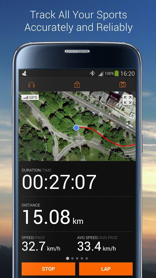 Sports Tracker Running Cycling- screenshot