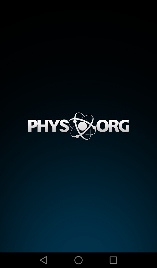 Phys.org News- screenshot