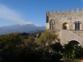 Photo: 16th century  Taormina palazzo with a view to die for