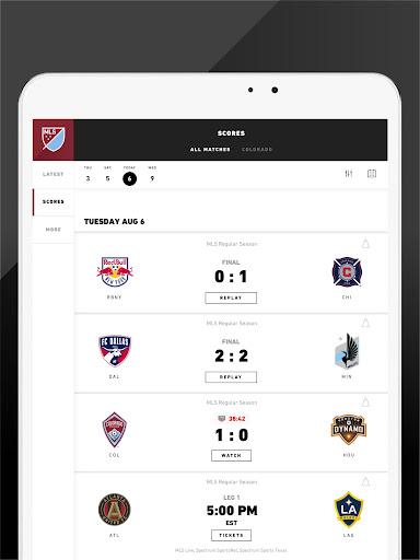 MLS: Live Soccer Scores & News 18.66.2 screenshots 10