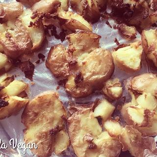 Garlic Roasted Red Potatoes (Vegan Airfryer Recipe) Recipe