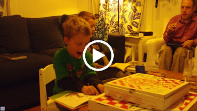 Video: Thane reading, just before his 5th birthday.
