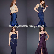 New Evening Dresses Design Ideas icon