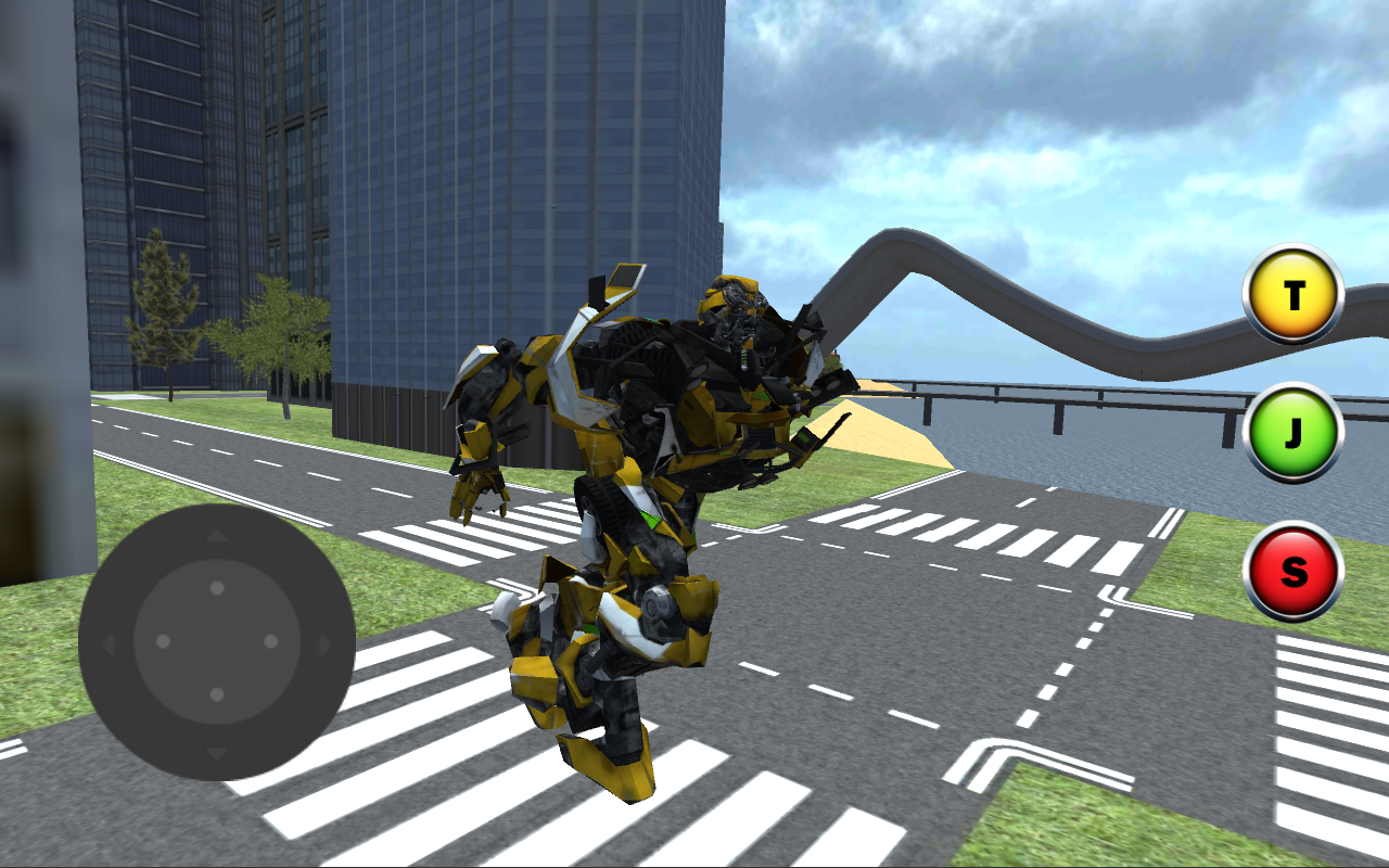 Extreme X Ray Robot Stunts- screenshot