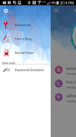 Screenshot of Trend Micro Password Manager