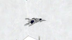 空を飛びそうな車 崩