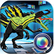 Jurassic Photo Editor Indo Raptor Hybrids game APK